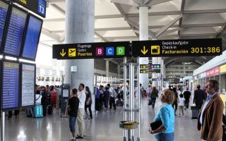 Транспорт аэропорта Малаги