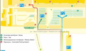 Парковка в аэропорту Екатеринбурга