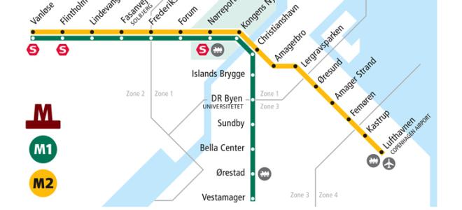 Как добраться из аэропорта Копенгагена