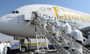 Аэропорт Дубай (ОАЭ) в ответ на вспышку эпидемии коронавирус