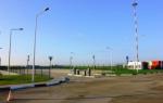 Автостоянка в аэропорте Белгород