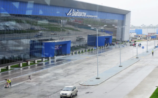 Транспортная развязка аэропорта Владивосток