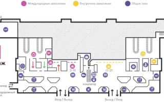 Международный аэропорт Владивосток Кневичи Западные