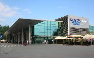 Путеводитель по аэропорту Кракова