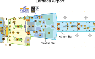 Аэропорт Гермес Ларнака