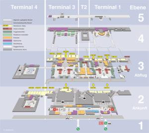 Карта аэропорта Штутгарта