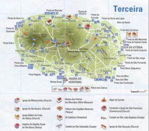 схема аэропорт Терсейра