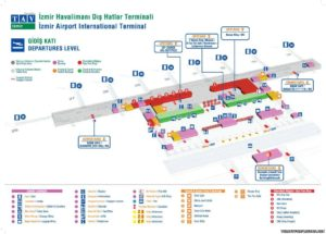 Схема аэропорт Измир