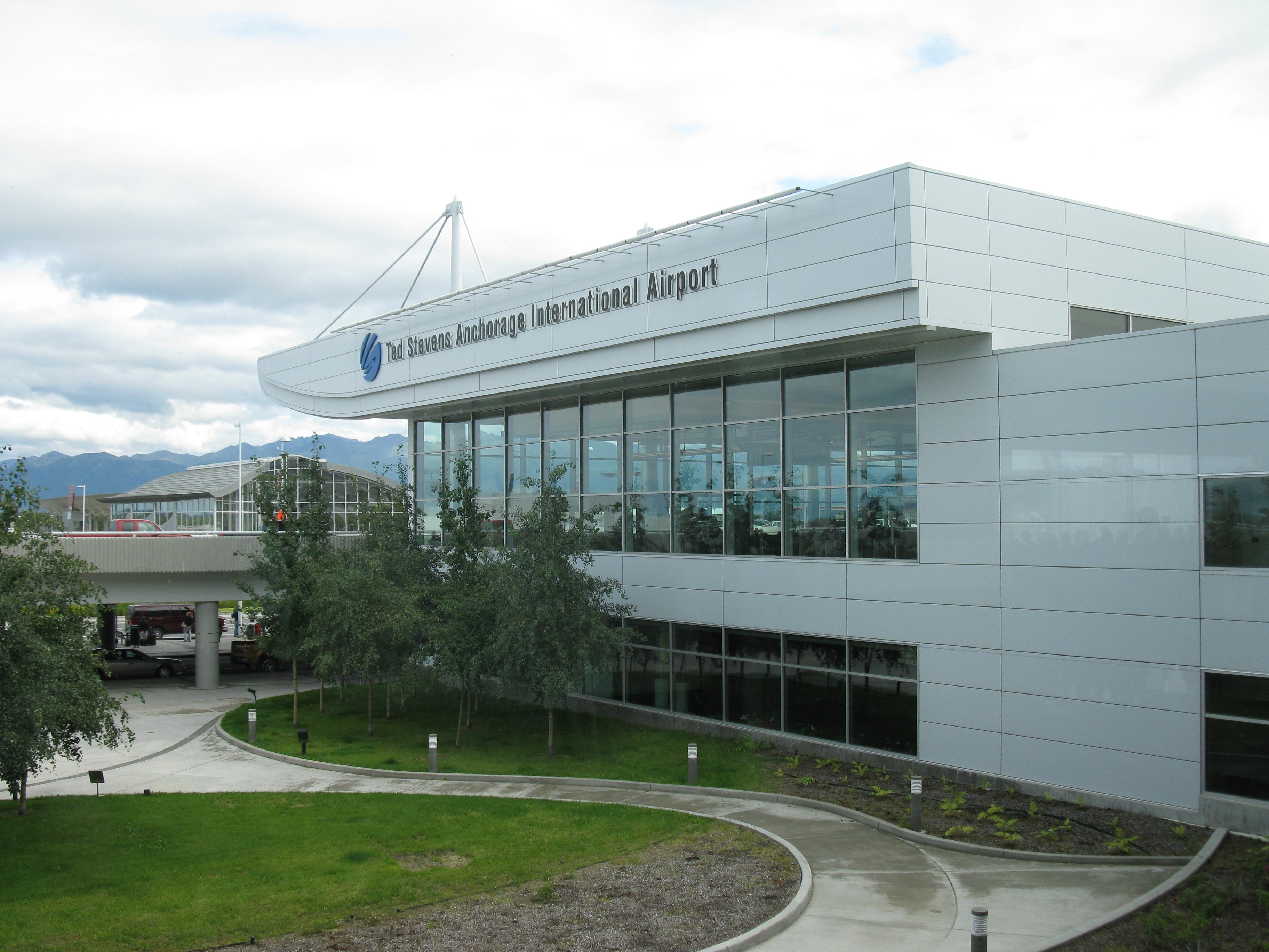 аэропорт Анкориджа