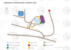 Схема аэропорта Абердин