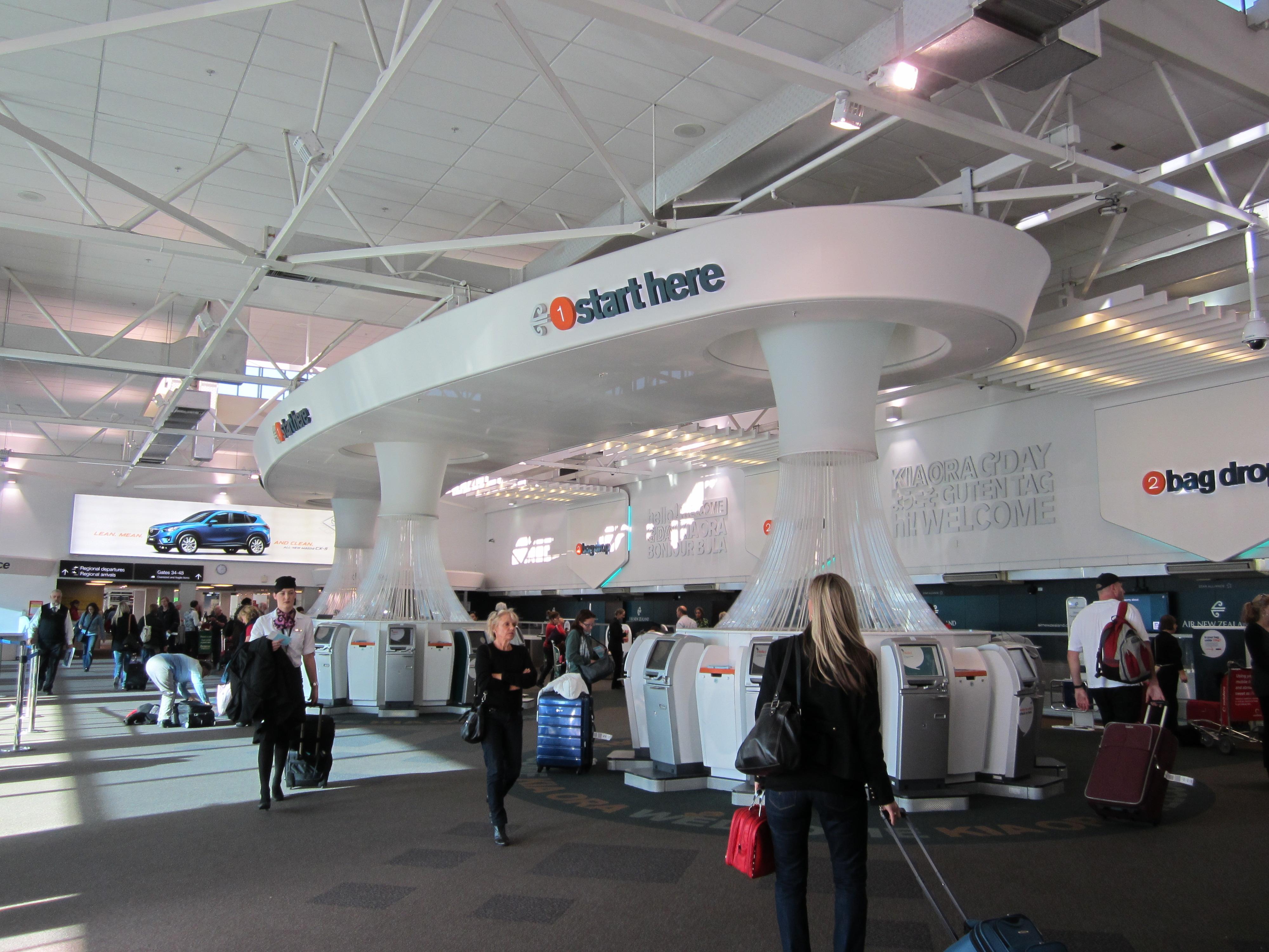 аэропорт Окленда