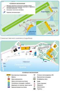 схема аэропорт Геленджика