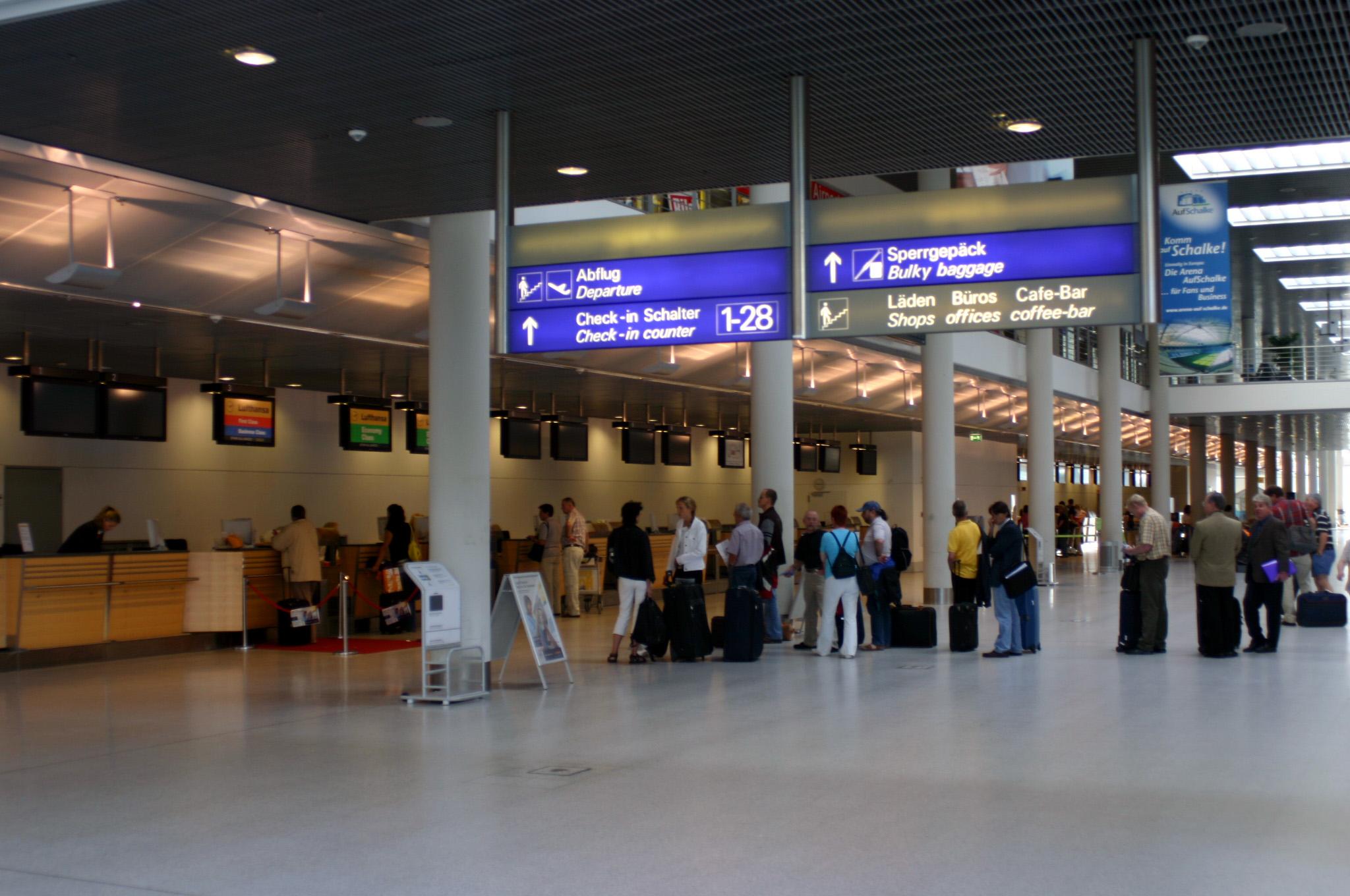 аэропорт Мюнстер