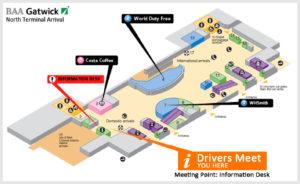 Схема аэропорта Борнмут