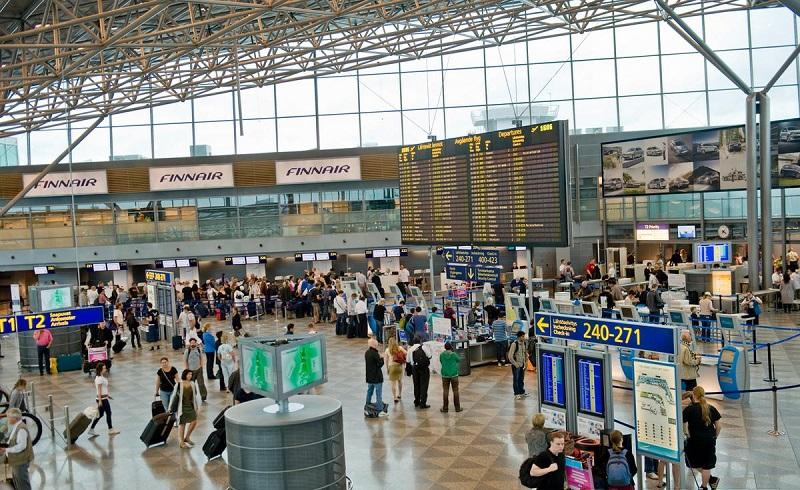 Аэропорт Вантаа, Хельсинки.