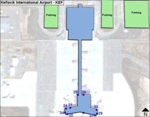 схема аэропорта Рейкьявик Кефлавик