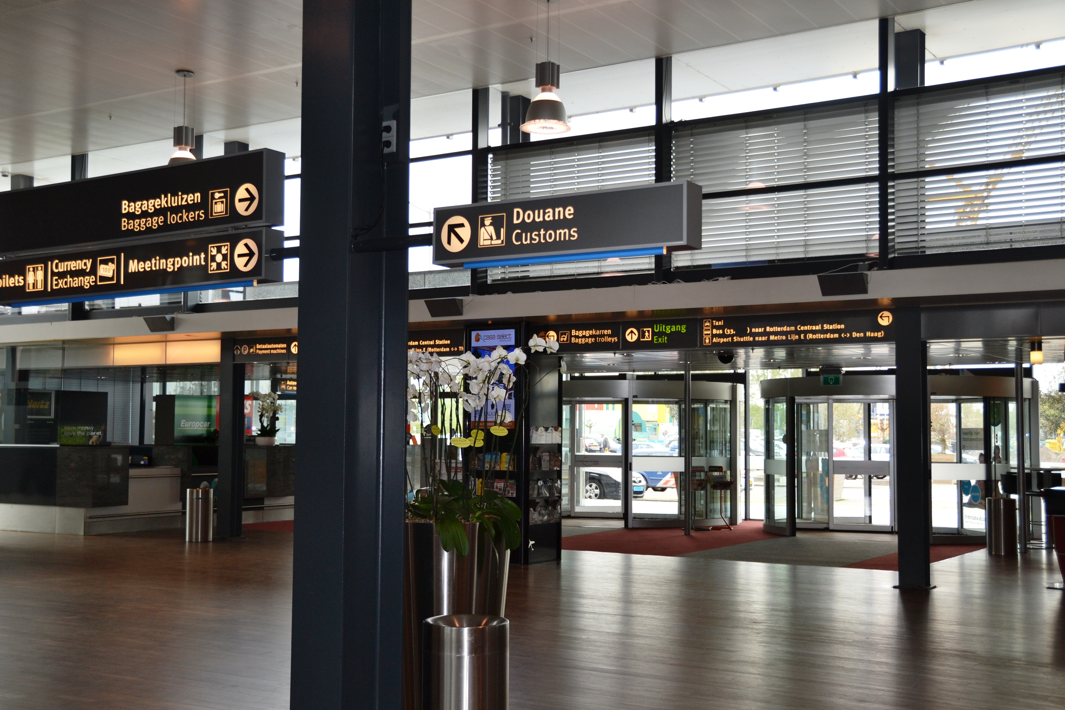 Аэропорт Роттердам