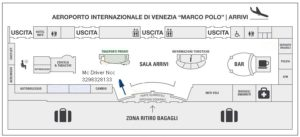 схема аэропорт Венеции Марко Поло