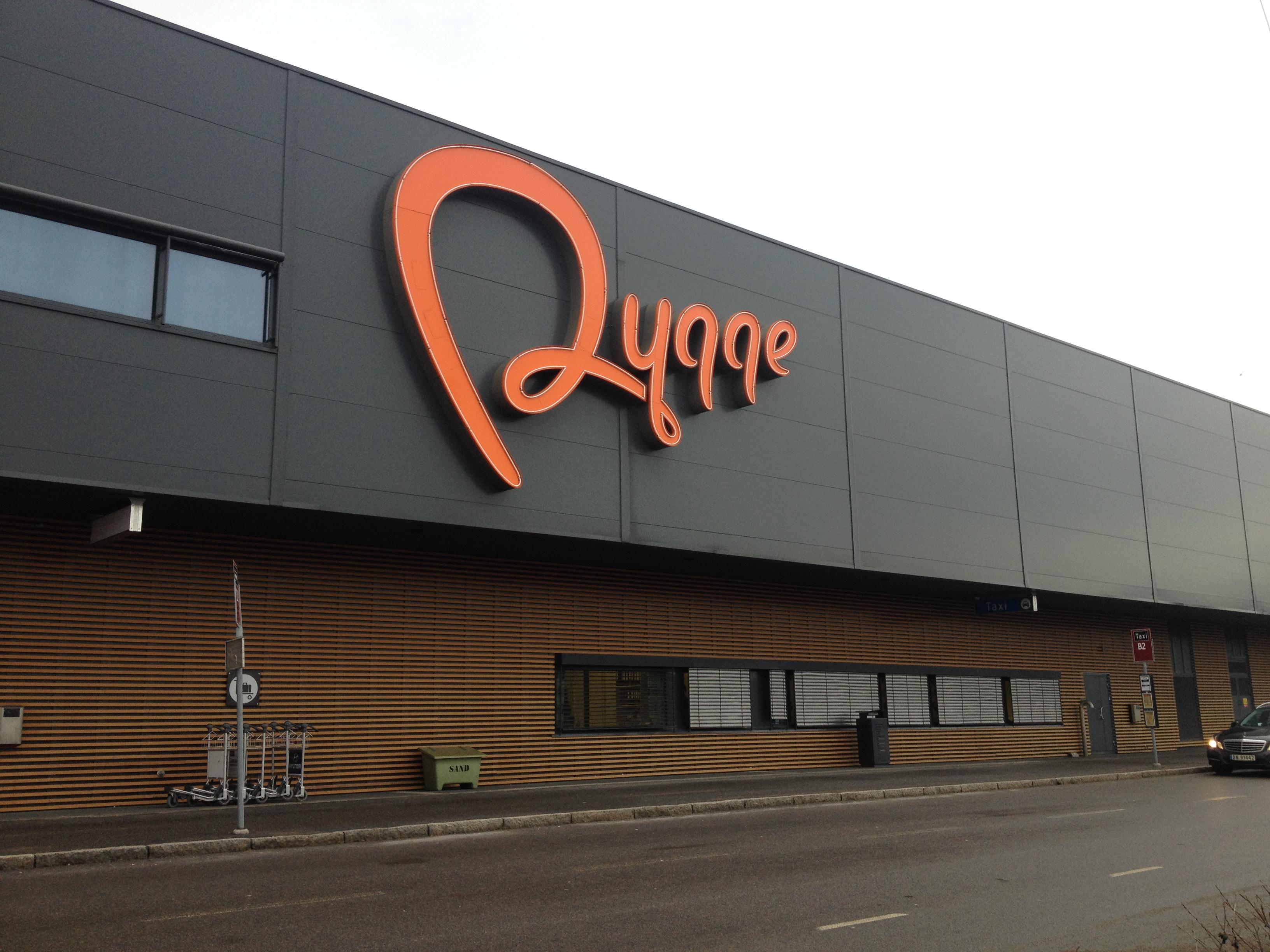аэропорт Осло Ригге