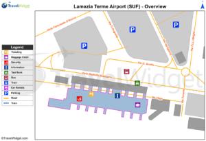 Схема аэропорт Ламеция