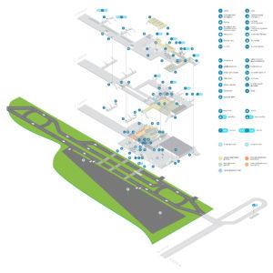Карта аэропорта Львов