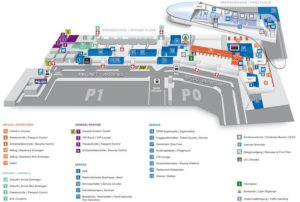 Схема аэропорта Грац