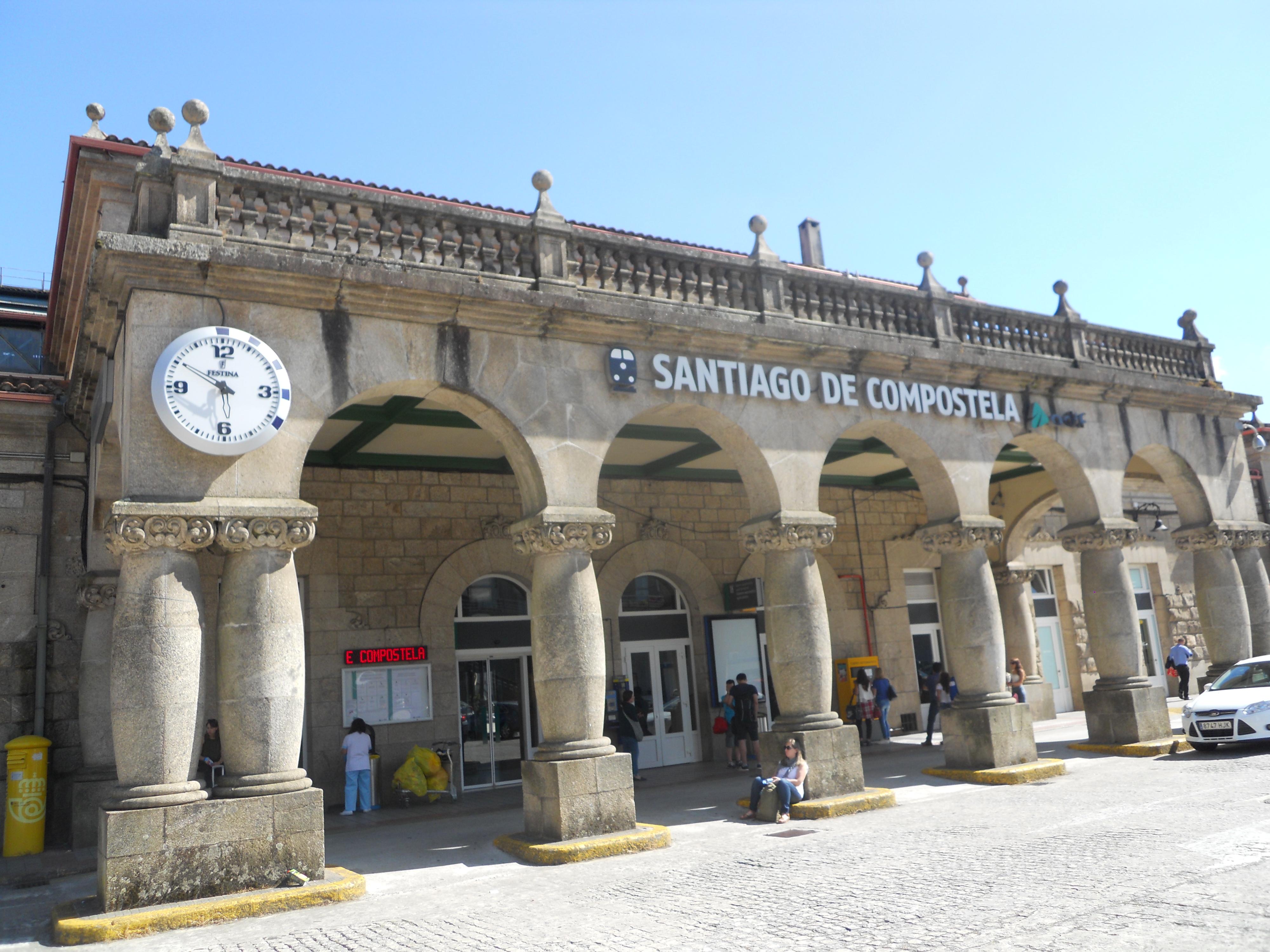 аэропорт Сантьяго де Компостела