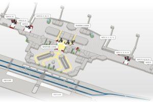 схема аэропорт Турина
