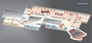 Карта аэропорта Салоники