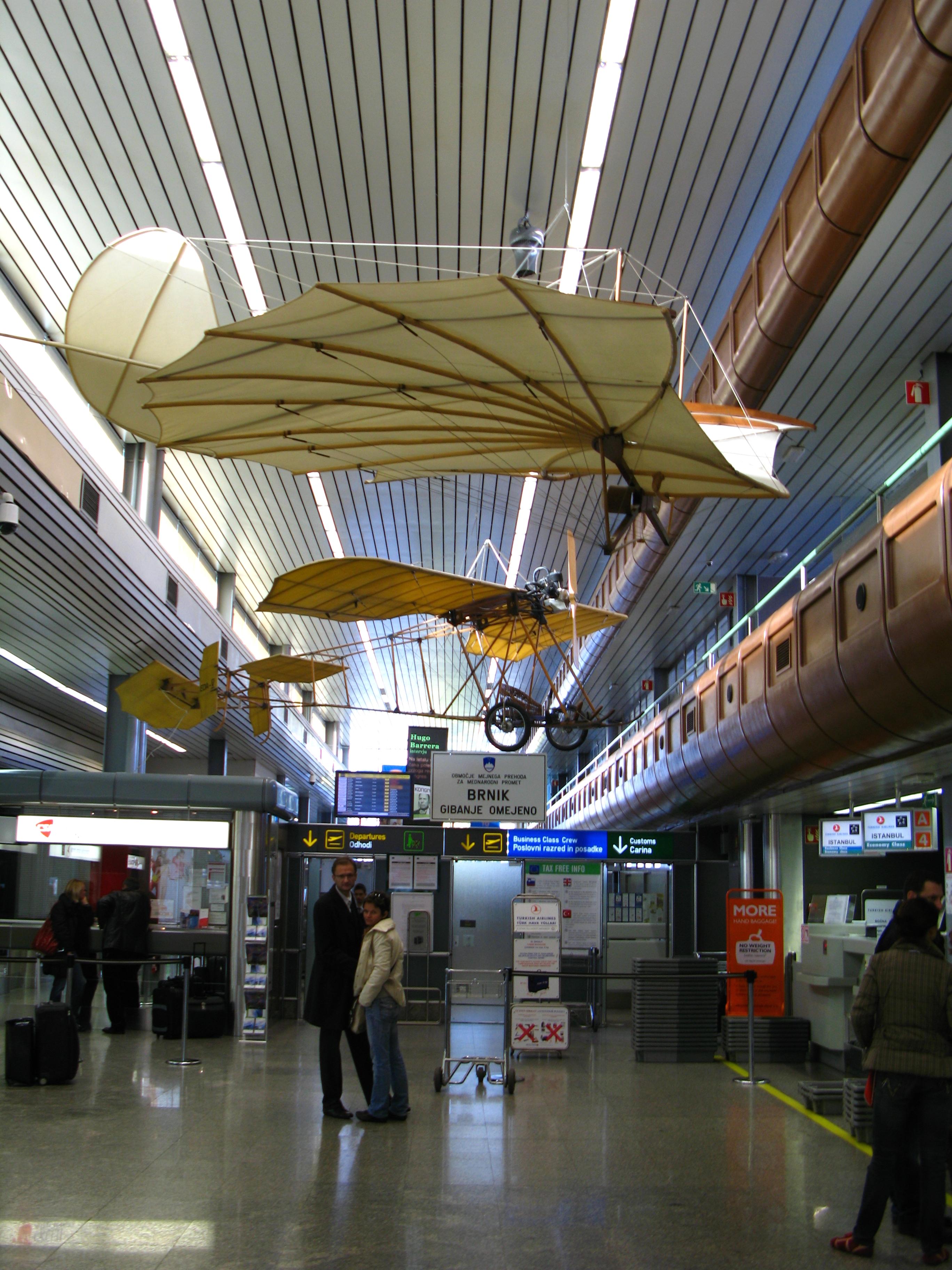 аэропорт Любляна
