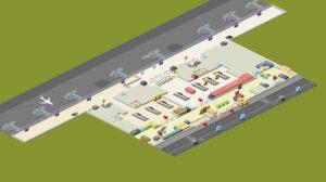 схема аэропорт Газиантеп