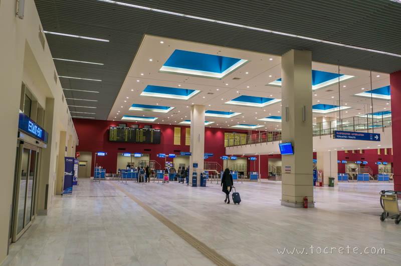 Международный аэропорт Ханья имениИоанниса Даскалоянниса