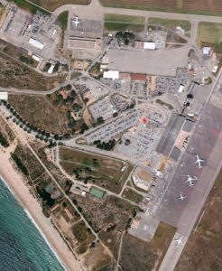 Схема аэропорта Аяччо