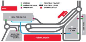 Схема аэропорта Корк