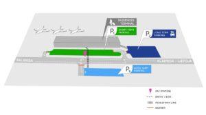 Схема аэропорт Паланга