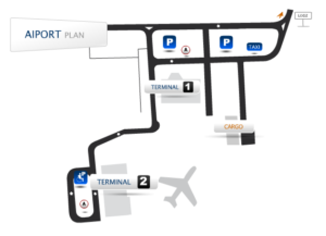 Схема аэропорт Познань