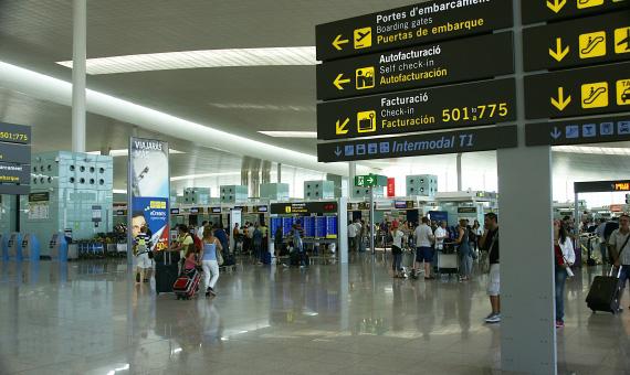 Барселона Эль Прат аэропорт