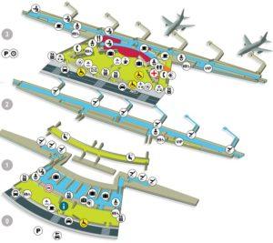Схема аэропорта Бильбао