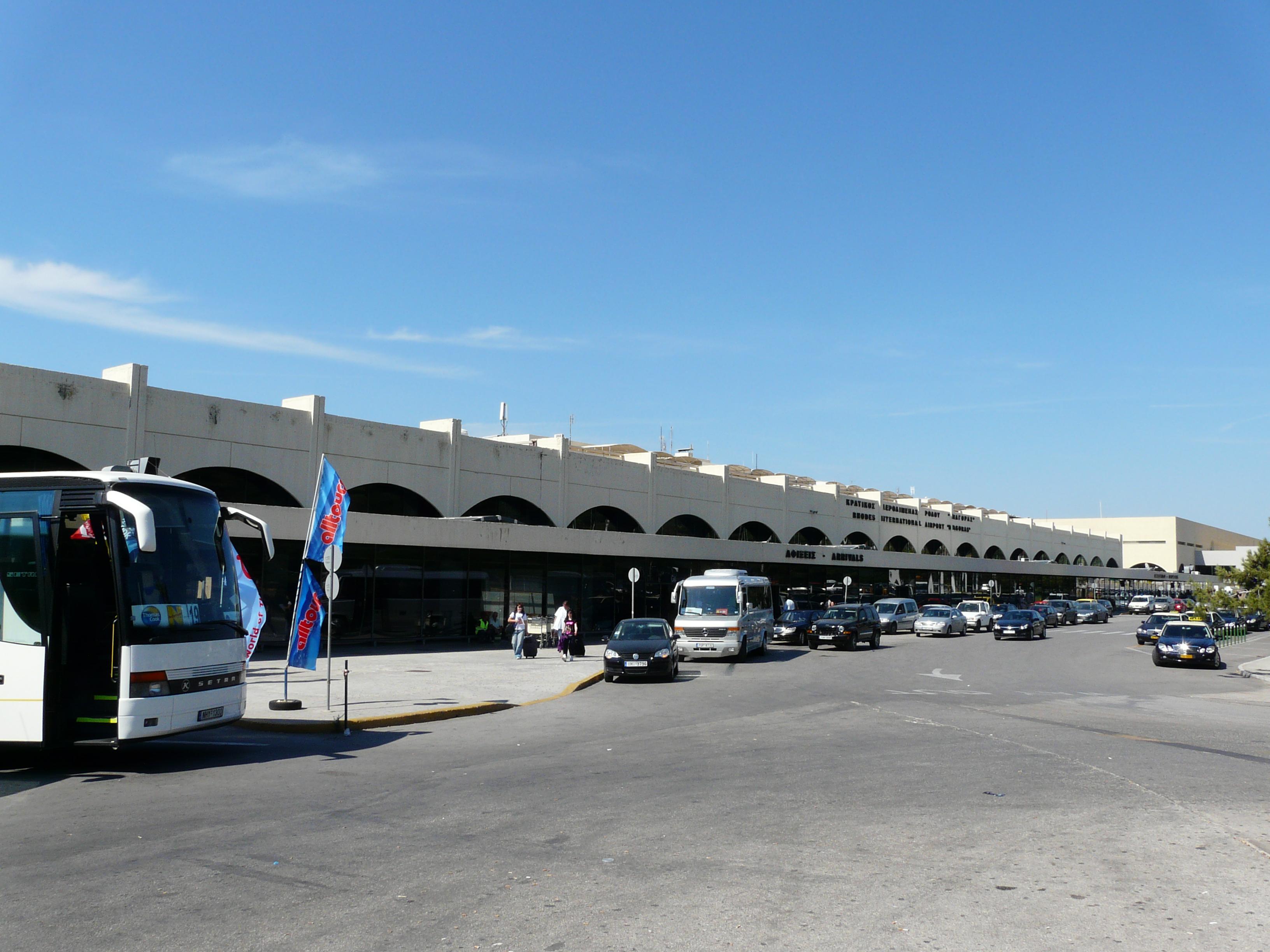 аэропорт острова Родос