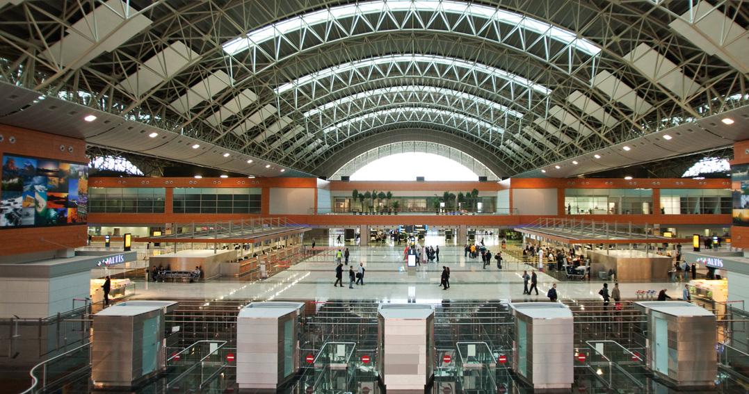 Сабиха Гекчен аэропорт