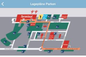 схема аэропорт Карлсруэ Баден