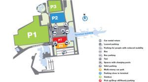 Схема аэропорта Мальме