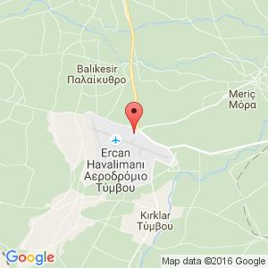 Схема аэропорт Эрджан