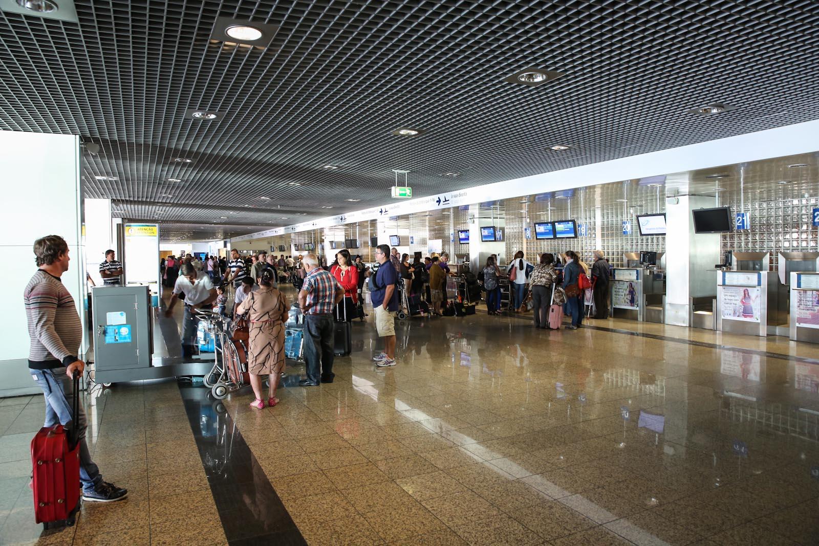 Аэропорт Фуншал