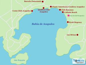 схема аэропорт Акапулько