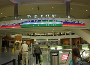 Вход аэропорта Бойсе