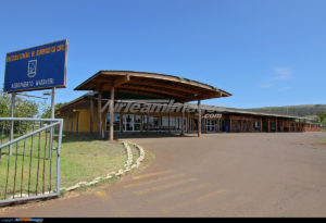 Вход аэропорта Остров Пасхи