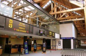 Зал аэропорта Ушуайя