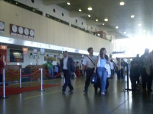 Зал аэропорта Ла Пас