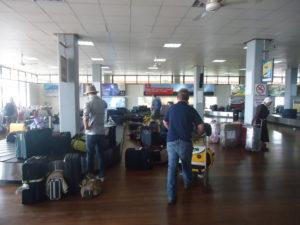 Зал аэропорта Килиманджаро